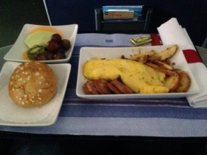 MSP-PHX hot option, which was normally a snack basket flight prior to 4/1