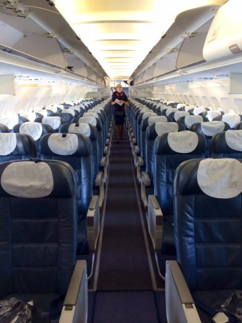 Lan Airlines Eze Scl A320 Economy Class Points Summary