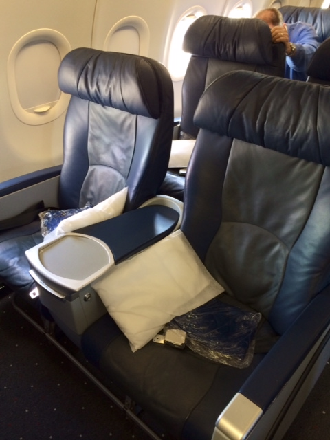 Us Airways Clt Lax A321 First Class Review Points Summary