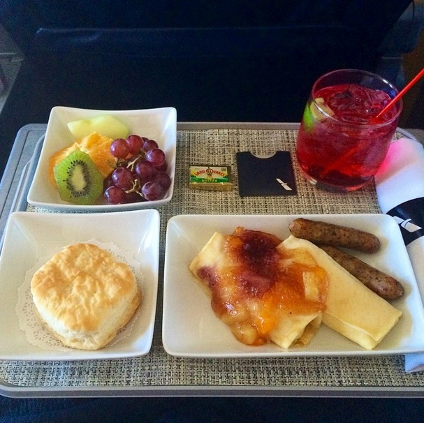 Reserving The New First And Business Class Meals On