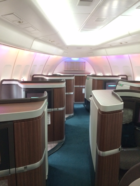 Cathay Pacific Hkg Nrt 747 400 First Class Points Summary