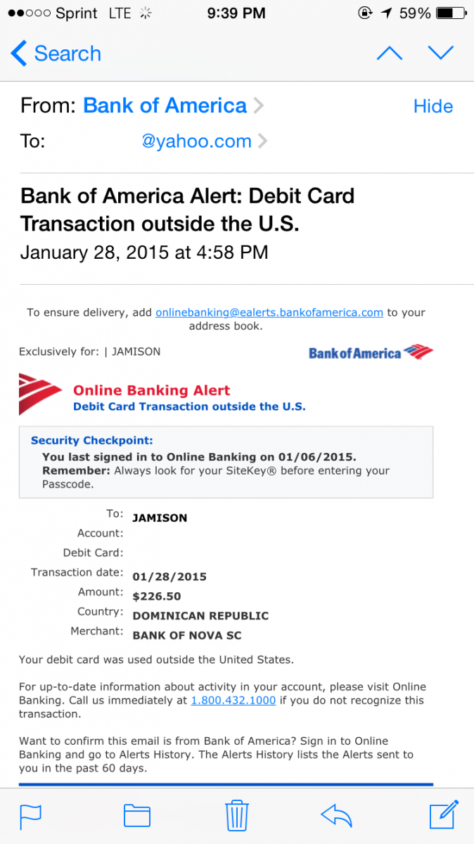 My Debit Card Was Fraudulently Used In