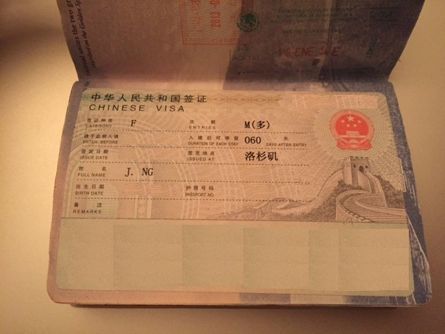 Image result for Tourist Visa to China