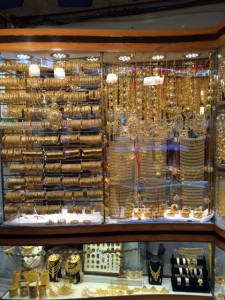 The Sights and Sounds of the Gold Souk in Dubai