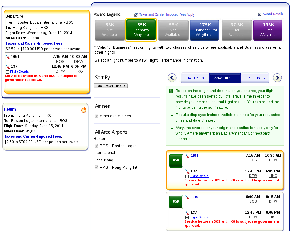 Airline Reservations   Choose Flights   Results   Book Flights   AA.com