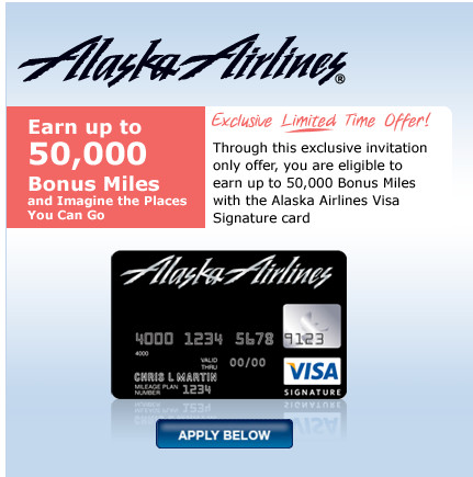 Credit Card Application   Alaska Airlines Visa Signature® Card