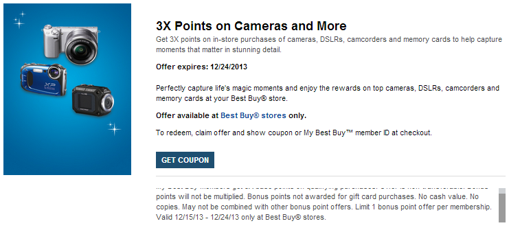 Offer Details   My Best Buy   Camera and Memory Rewards