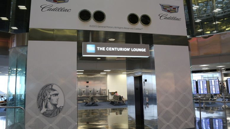 American Express Centurion Lounge Miami Review Running