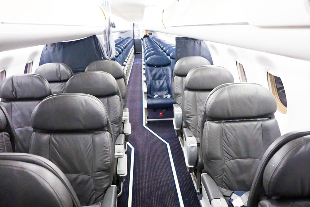 American Airlines E170 First Class The Traveling