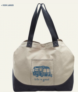 Life Is Good Tote (Image from LifeIsGood.com)