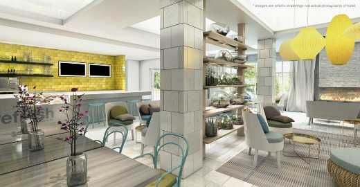 Even Hotel Wellness Area Rendering