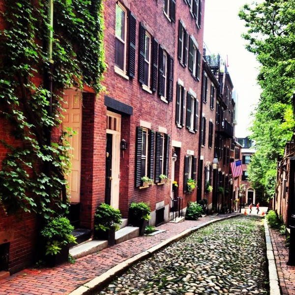 Beacon Hill.  Copyright: Author