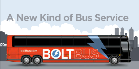 Copyright: Bolt Bus Website Homepage