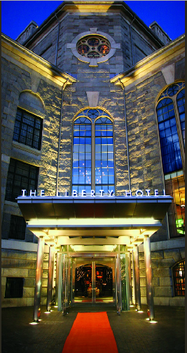 The Iconic Liberty Hotel Copyright: The Liberty Hotel