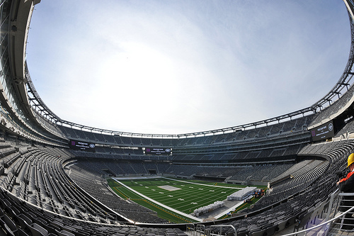 The Stadium - Copyright: MetLife Stadium Media Library Copyright 2009 (Photo by Jesse D. Garrabrant/