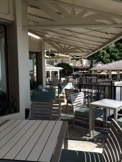 Beach Club Lounge Outdoor seating