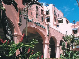 The Royal Hawaiian Entry