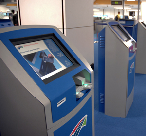 SmartGate Kiosk.  Copyright: Australian Customs and Border Protection