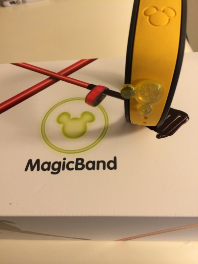 Disney MagicBand with accessory