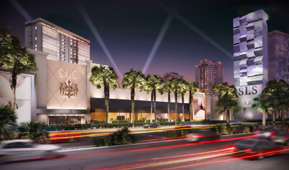 From The SLS Las Vegas Website