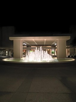 Hotel Entry Fountain, photo by me