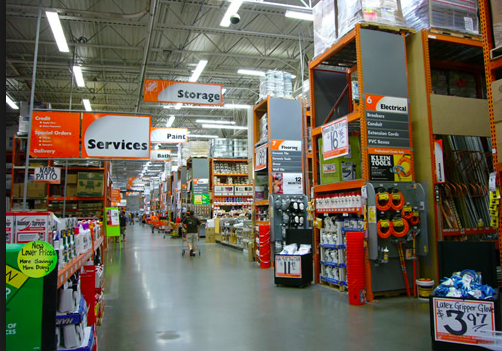 Secret world of savings at home depot verygoodpoints for Shop home depot