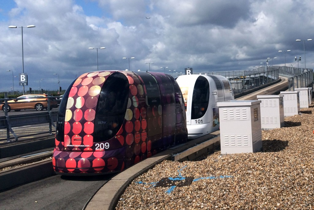 Some Heathrow Pods waiting to be called into action