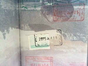"""Don't Forget To Get Your """"Solidarity"""" (Exit) Stamp If You Want To Leave Tunisia!"""