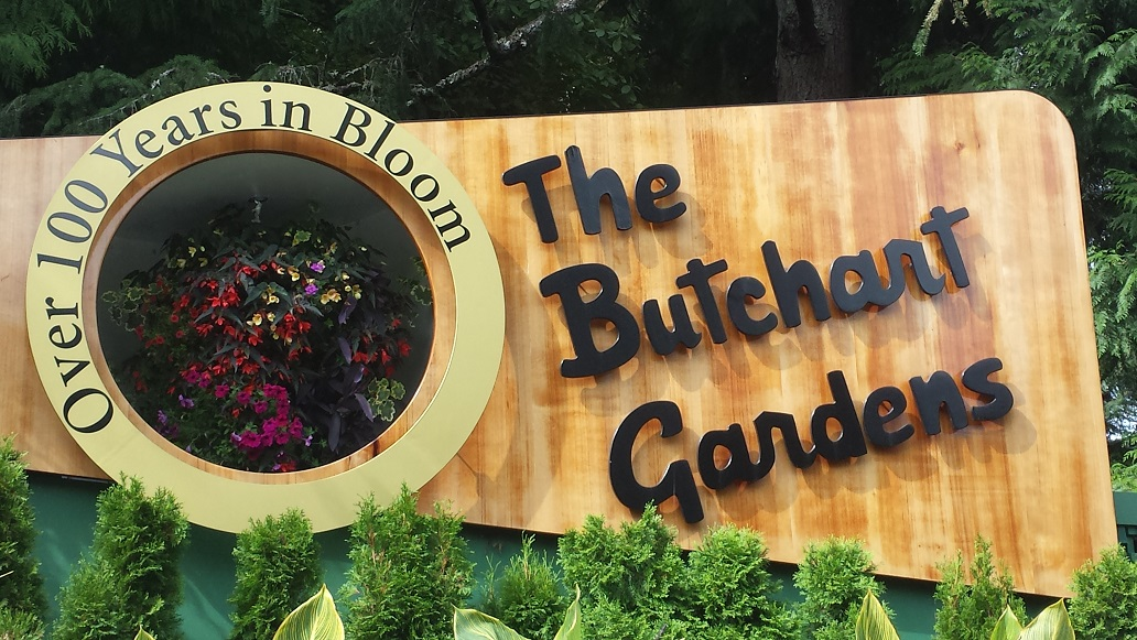 Visiting Butchart Gardens on Vancouver Island in Canada