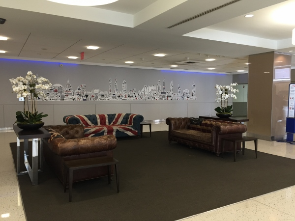 British Airways Concorde Room JFK – Italian Anniversary