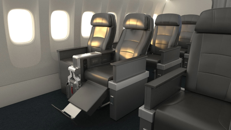 American Launches International Premium Economy
