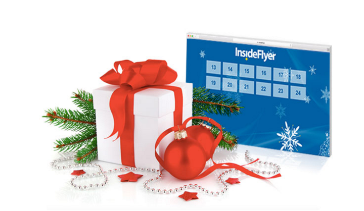 Win During the Twelve Days of Christmas with Inside Flyer
