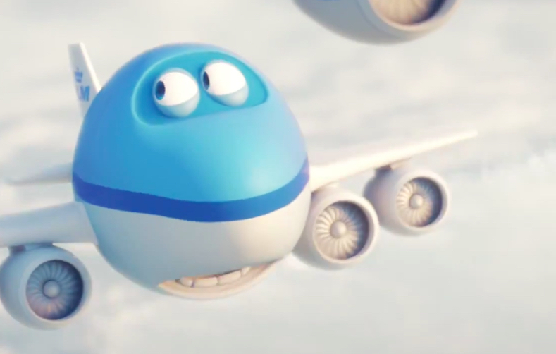 KLM: Bluey's Christmas Airshow