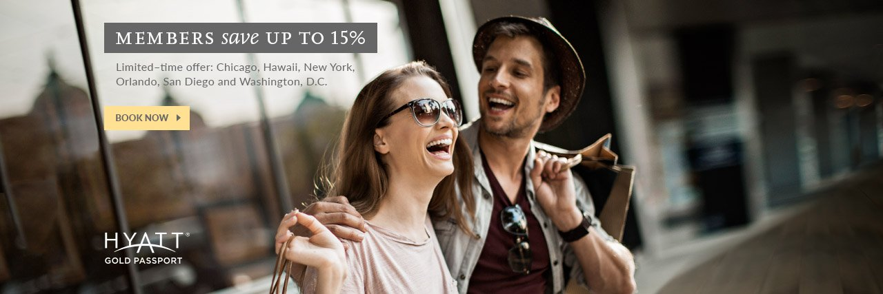 Hyatt Promo – My Hyatt Rate – 15% Off in Select Cities