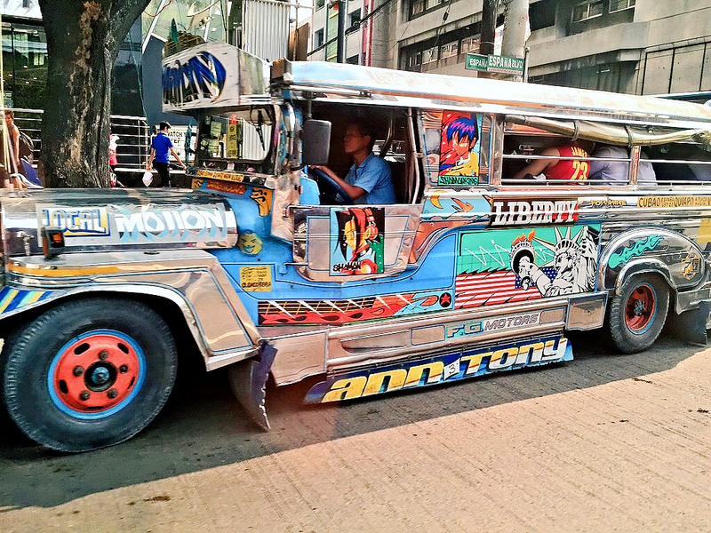 Getting Around Metro Manila via Jeepney and More