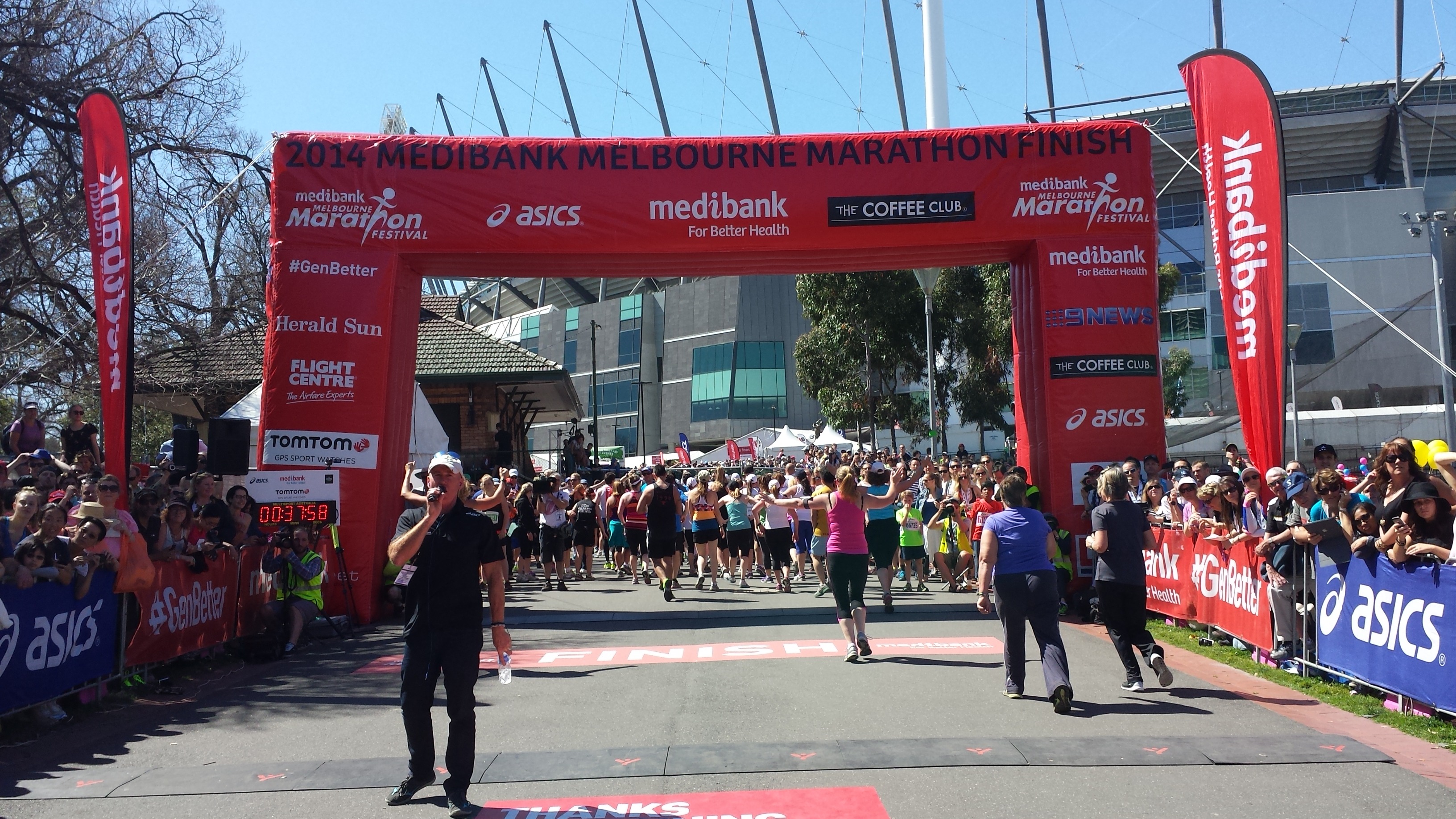 Melbourne Marathon 2014 Race Day Review
