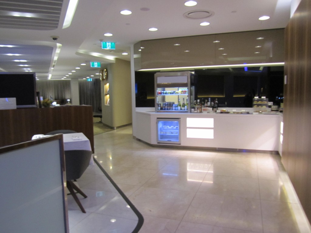 Star Alliance First and Business Lounge Review at MEL
