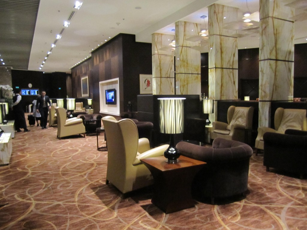 Singapore Airlines Business, First and Private Room at SIN
