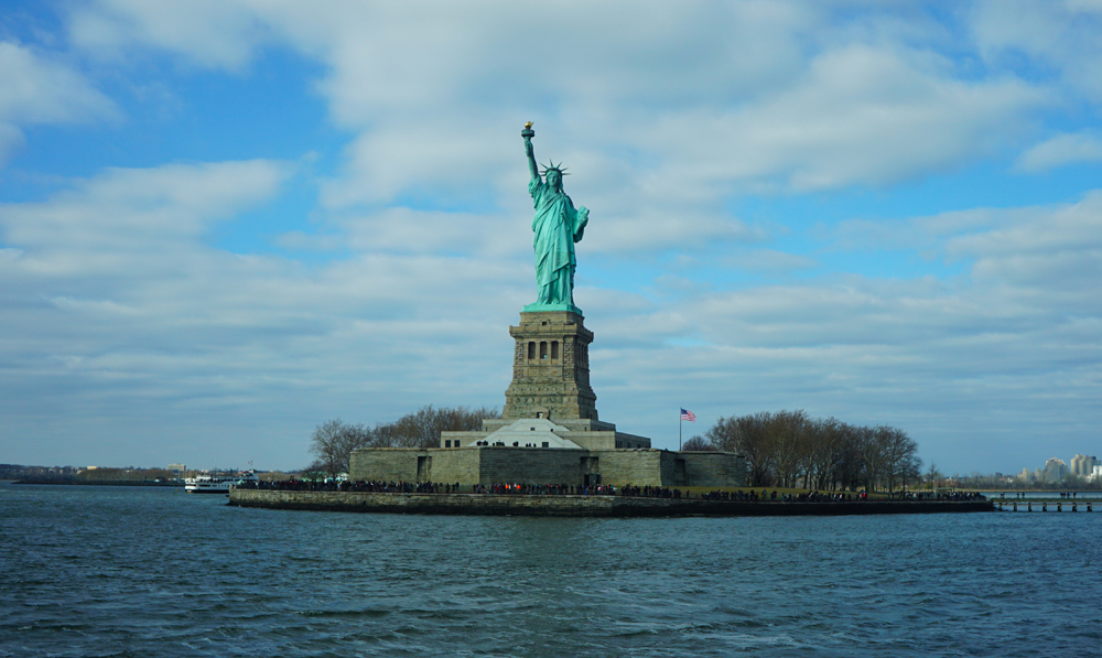 Visiting the Statue of Liberty: Part 1