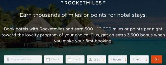 Limited Time Deal: 3,500 Airline Miles With Your Next Hotel Booking!!!