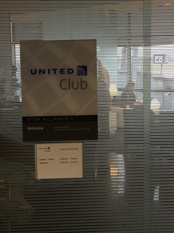 San Francisco Trip United Club MSP