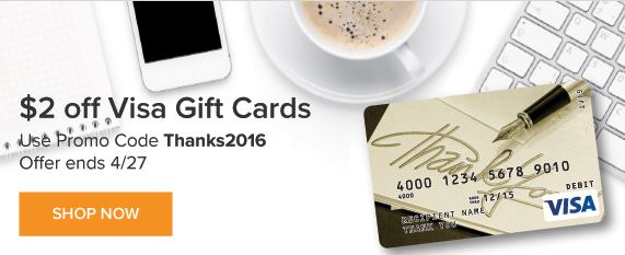$2 Off Visa Gift Cards At GiftCardMall.com – Promo Code and How The Math Works