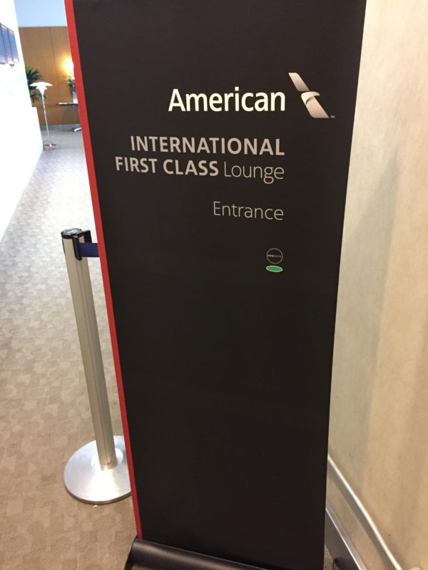 American Airlines Admirals Club First Class Lounge LAX Review