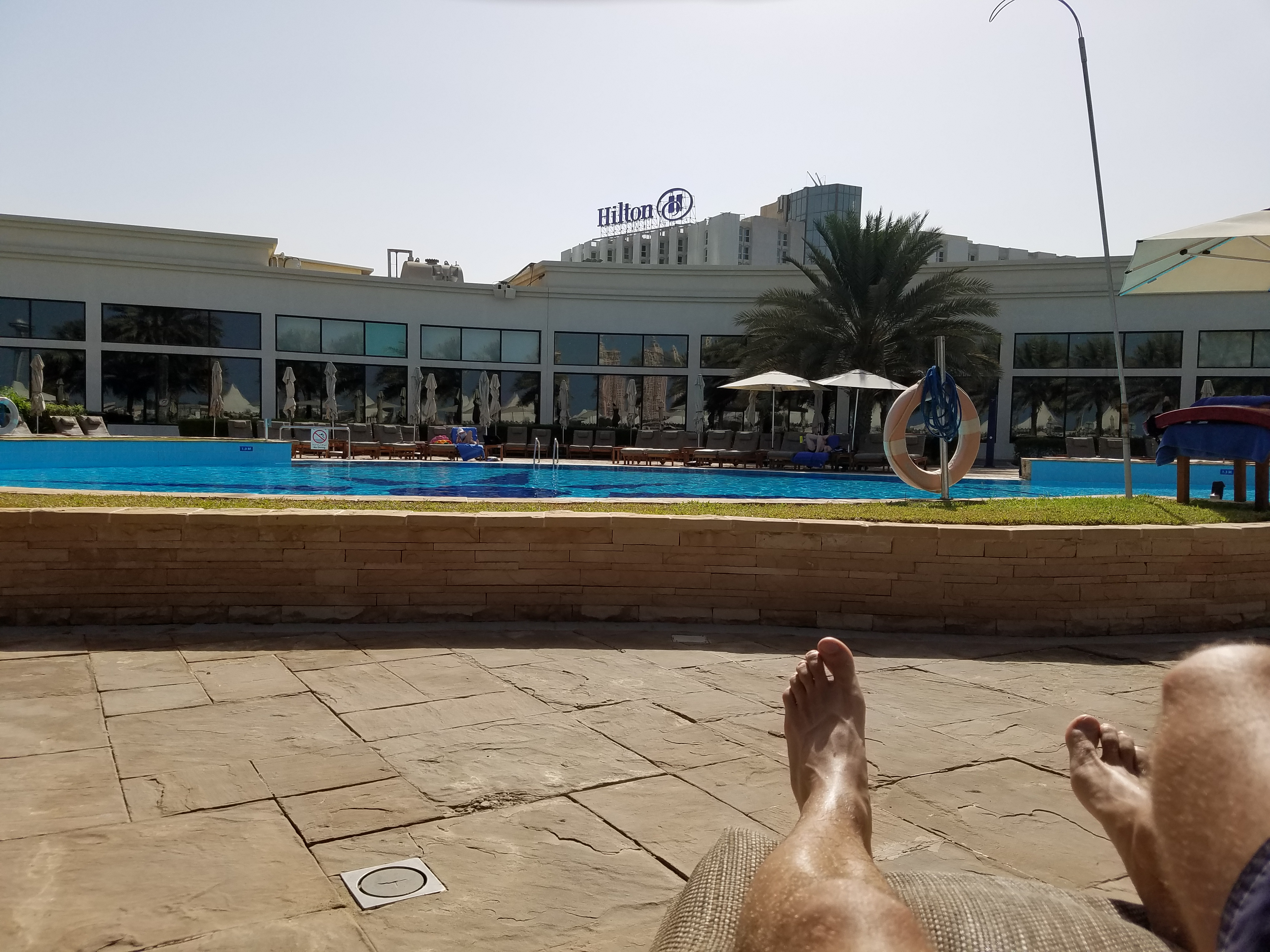 Hilton Abu Dhabi (Executive Floor – King) Review