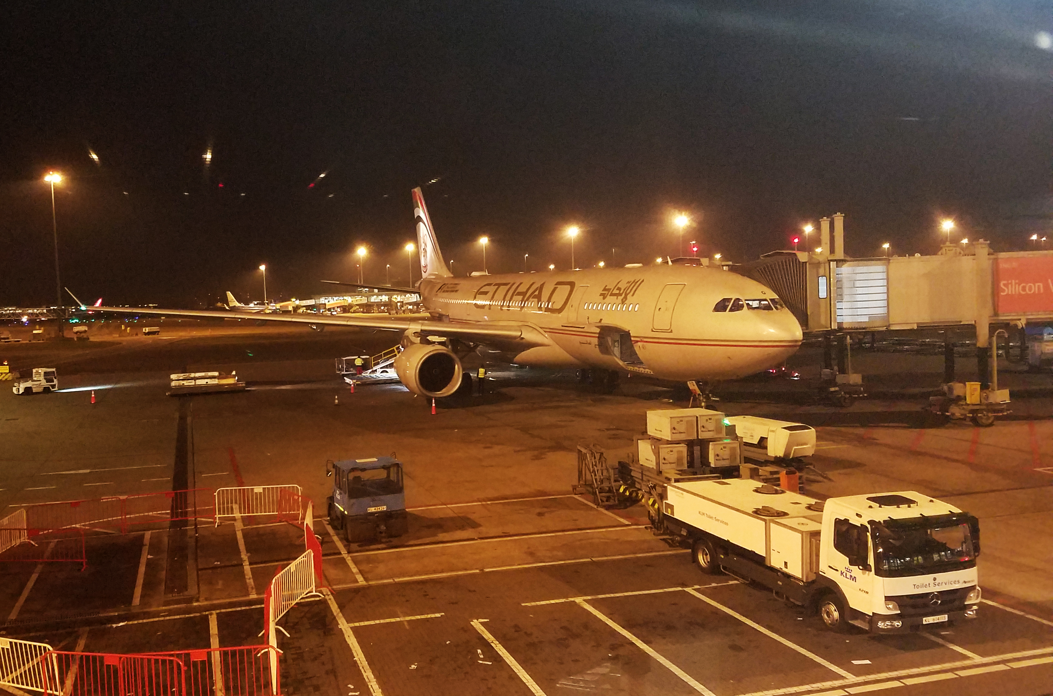 Etihad A330-300 Review (Economy)