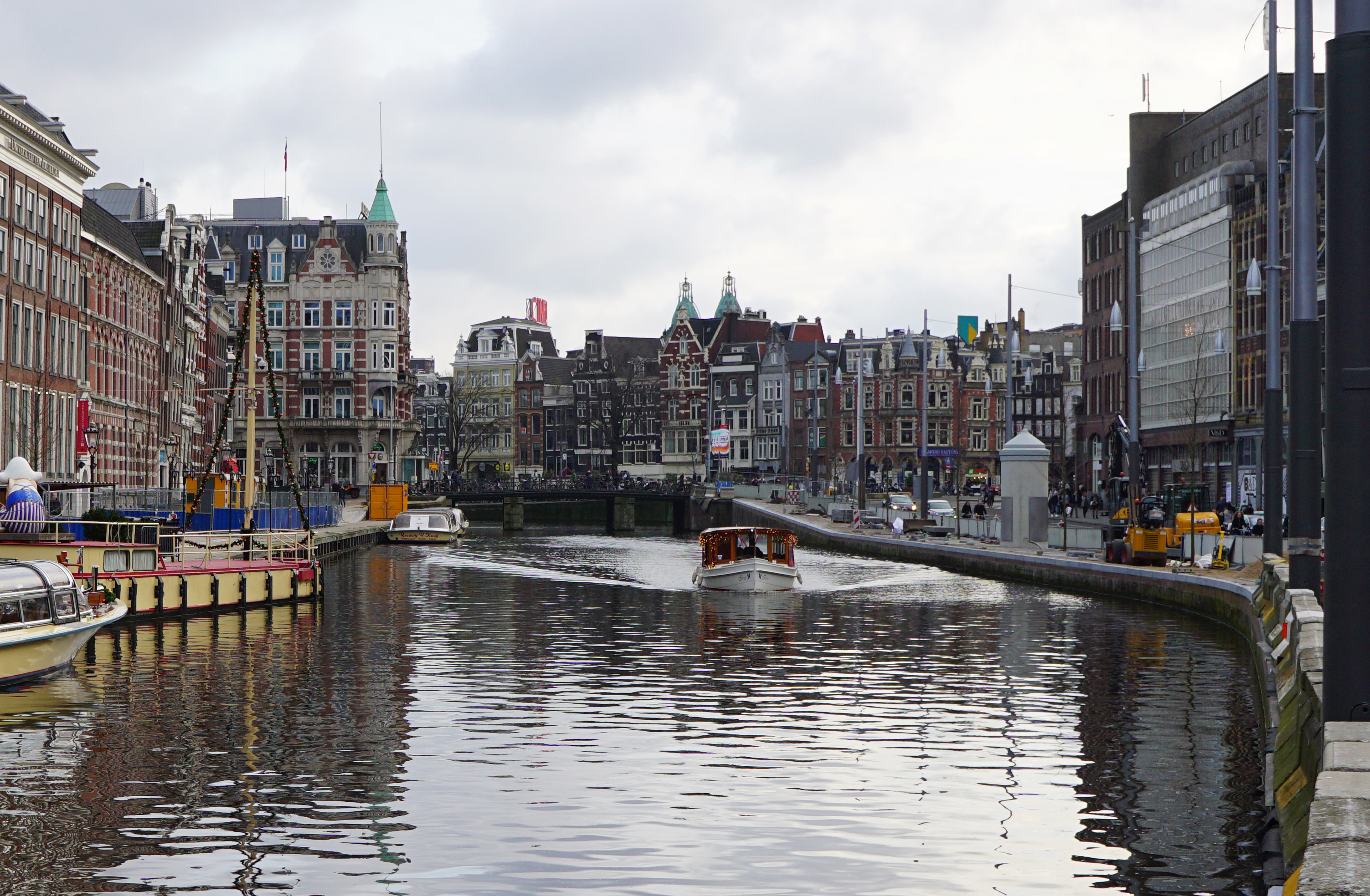 Amsterdam:  4-Hour Layover