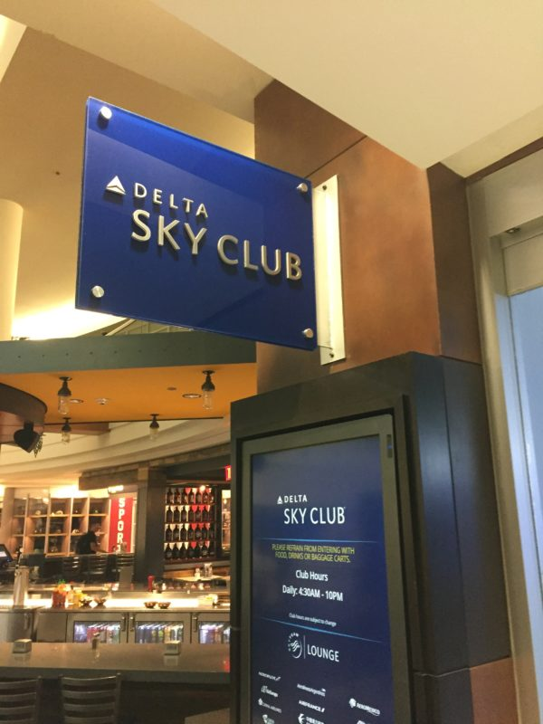 Awesome Experience at Delta Sky Club Minneapolis