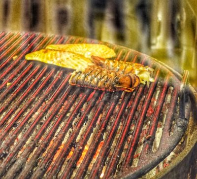 Incredible Mesquite-Grill Seafood Dinner at Pier Market